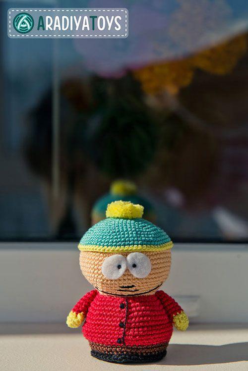 Amigurumi Cartman : South park Cartman amigurumi pattern by AradiyaToys ...