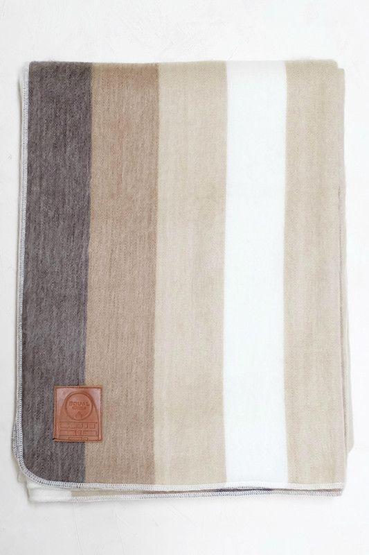 Neutral Stripes Blanket