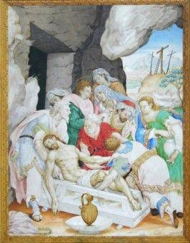 El entierro de Cristo. Luis Lagarto. México