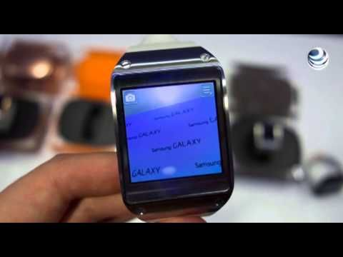 ▶ Galaxy Gear, el reloj inteligente de Samsung - YouTube