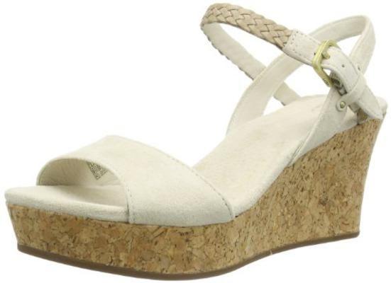 UGG UGG D'Alessio 1005104 Damen Sandalen, Beige (CREAM), EU 40 #sandals #uggaustralia #women #covetme