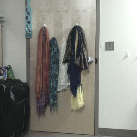 Command hooks for scarves!