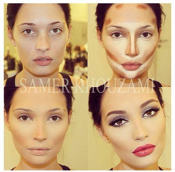 how to choose contouring makeup