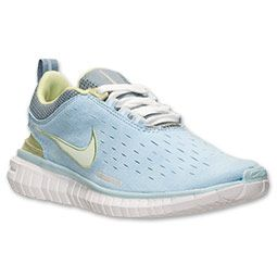 Women's Nike Free OG Superior Running Shoes| FinishLine.com | Pale Blue/Pistachio/White/Grey