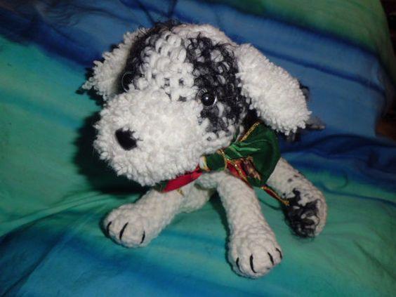Your Dog in Crochet Custom Amigurumi Pet Your by wheredshegetthat