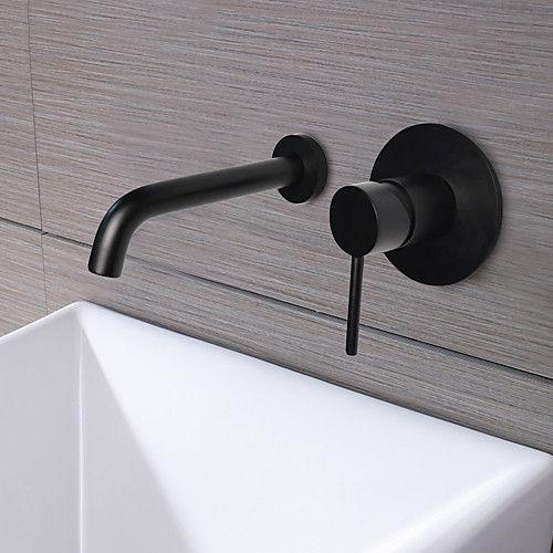 Waschbecken Wasserhahn Wand Ol Riebe Bronze Wandmontage Einzigen