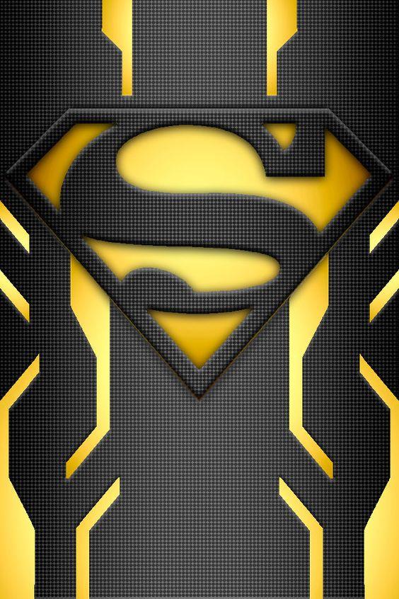 Superman, Suits and Yellow lanterns on Pinterest  Black Lantern Superman Symbol