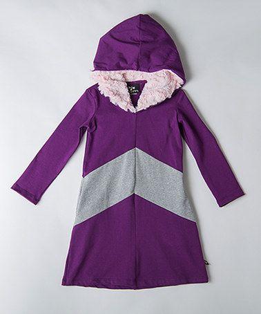 Another great find on #zulily! Violette Astrid Hoodie Dress - Toddler & Girls #zulilyfinds