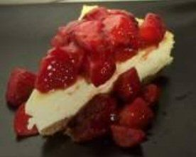 Low carb cheesecake - with almond crust