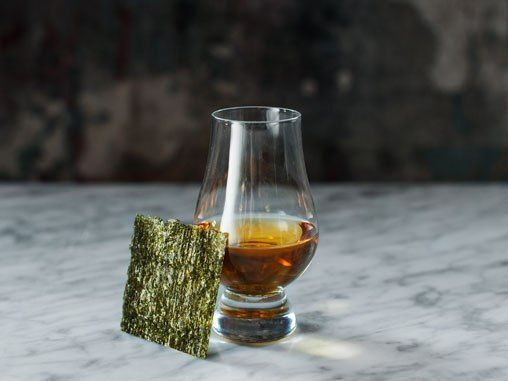 A Cocktail That Pairs Scotch…and Seaweed