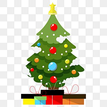 Lovely Christmas Tree Decorative With Ball Design Tree Ball 3d Gift Png And Vector With Transparent Background For Free Download In 2020 Realistic Christmas Trees Christmas Tree Background Holiday Greeting Cards