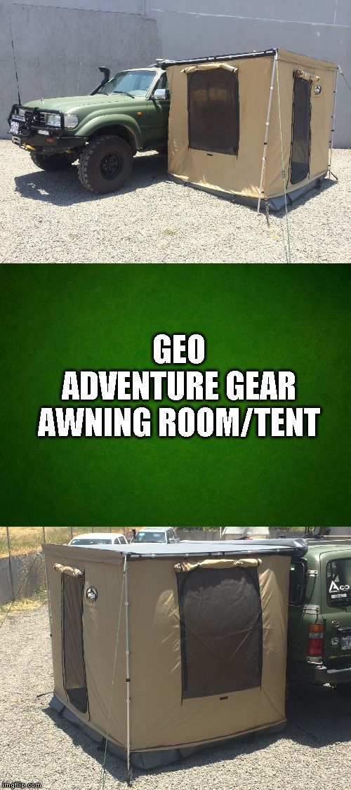 Details About Awning Room Camping Camper Geo Adventure Gear Gasf 250 250 Camping For Beginners Hiking Pictures Camping Fun