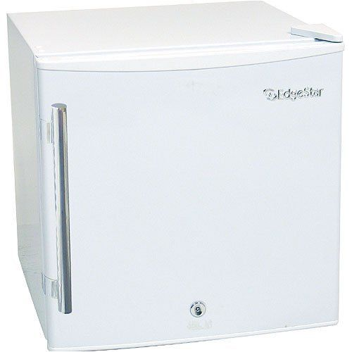 EdgeStar 1.1 Cu. Ft. Medical Freezer With Lock- White by EdgeStar. $180.00. The EdgeStar CMF151L compact medical freezer is truly in a class of it's own. This 1.1 cu. ft. capacity freezer is a cube sized, all purpose freezer with a reversible door and a front mounted security lock. This stylish and affordable upright unit features high quality construction and superior freezing power unavailable in other similar size models. Offering thermostat controlled low temperatu...
