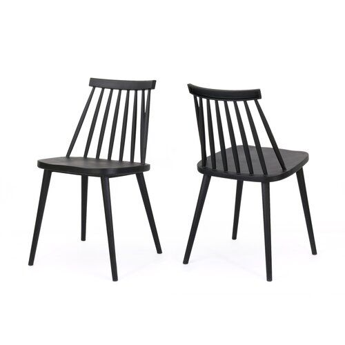 Osblek Farmhouse Spindle Back Dining Chair Dining Chairs Dining