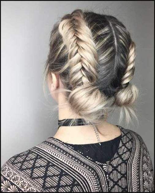 Muss Versuchen Geflochtene Kurze Frisur Anleitung Fur Madchen Einfache Frisuren Short Hair Updo Braids For Short Hair Hair Styles