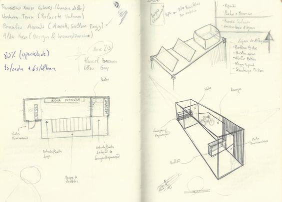 Ex. III   Design Urbano/Comercial/Reutilização   (RE) UTILIZAÇÃO DE CONTENTOR MARÍTIMO