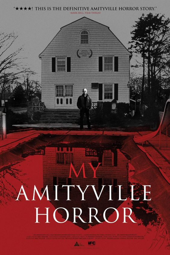 """My Amityville Horror"", directed by Eric Walter - New recounting of the infamous supposed haunting by Daniel Lutz,  the obviously screwed up son of George and Kathleen Lutz. 2012"