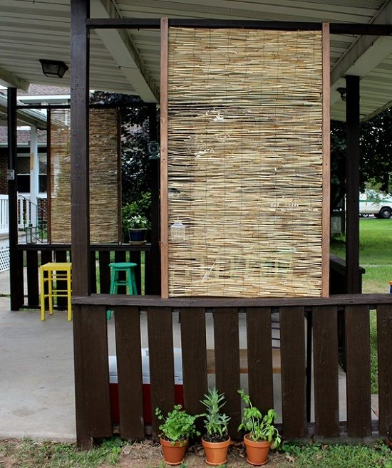24 Spectacular Things To Make From Bamboo In The Garden Privacy Screen Outdoor Bamboo Privacy Diy Privacy Screen