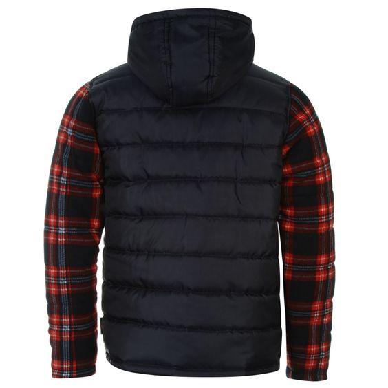 Lee Cooper | Lee Cooper Poly Fleece Sleeve Jacket Junior Boys | Junior Boys Jackets