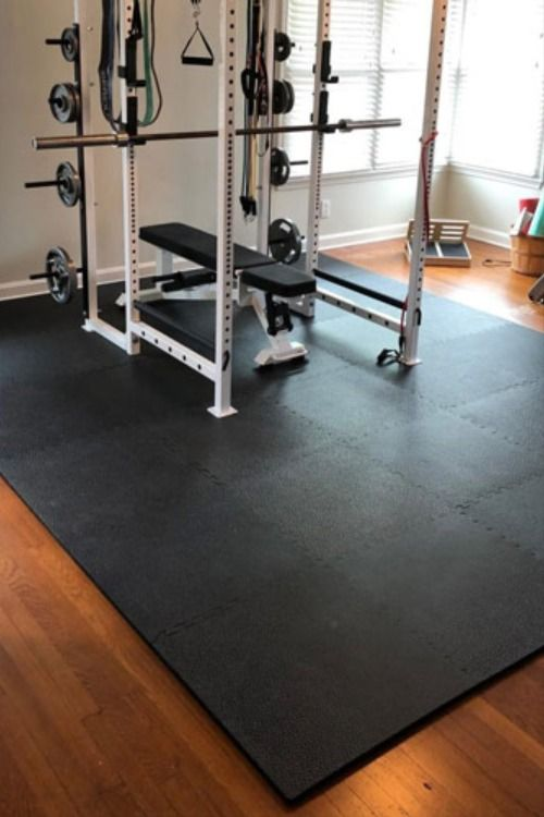 What Is The Best Weight Machine Mat In 2020 Weight Room Flooring Home Gym Flooring Gym Flooring Options