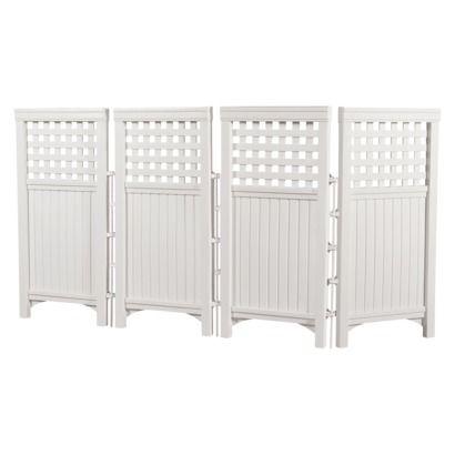 Suncast Outdoor Screen Enclosure - White  69.00 Target