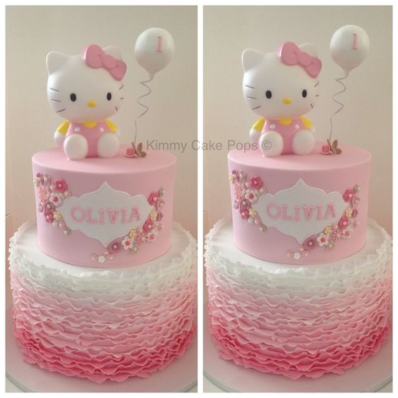 Cake Designs Of Hello Kitty : Hello Kitty:Children s Birthday Cakes - Cake Designs ...
