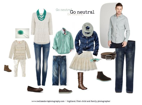 What to wear Wednesday Melissa Davis Photography Go neutral
