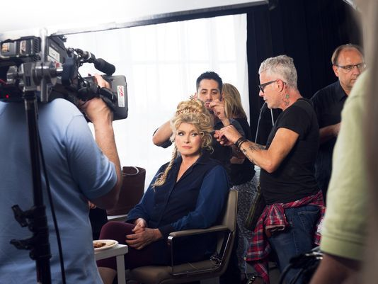 Image result for photo of behind the scenes martha stewart: