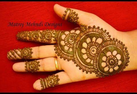 Mehandi Designs For Hands 3 Mehandi Design For Hand Beginner