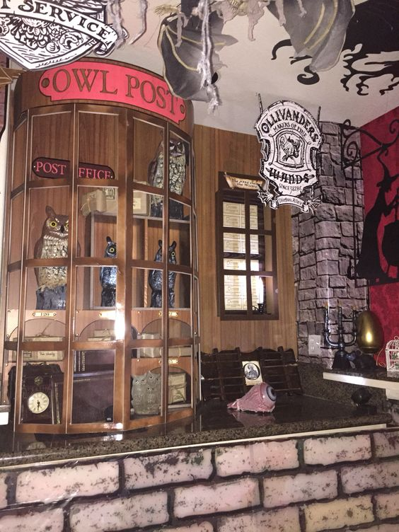 my own props halloween 2016 harry potter diagon alley. Black Bedroom Furniture Sets. Home Design Ideas