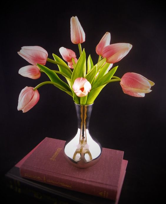 Real Touch Tulips Artificial Flower by RussellPriceFloral on Etsy