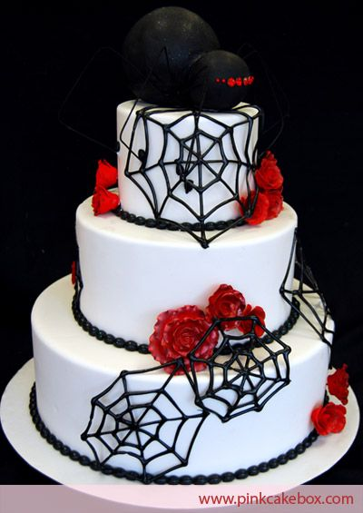 Halloween Theme Wedding Cakes