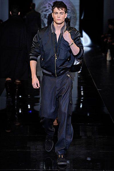 Milan Mesnwear | Versace AW13 | Sheer Magazine
