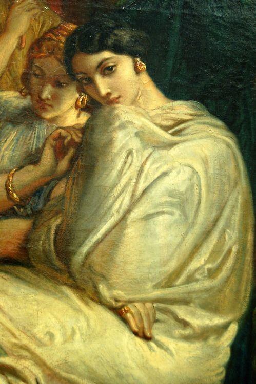 ☆ Musee d'Orsay, Paris ゝTheodore Chasseriau .. Tepidarium (detail)  Salon de 1853 ☆: