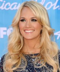 Carrie Underwood Hairstyle - click to view hairstyle information  I'd love to hair her hair color & style !!!