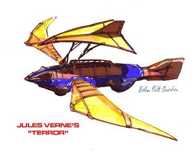 "O Homem Ilustrado - The Illustrated Man: Jules Verne's ""Terror"" from ""Master of the World"""