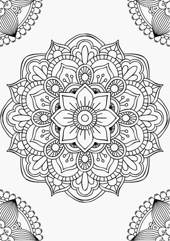 30 Best Coloring Pages For Adults To Print 1ausmalbilder Com
