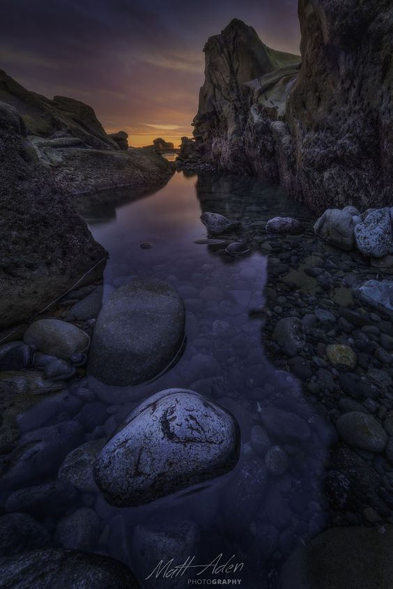 Tidepool Reflections by Matt Aden on 500px
