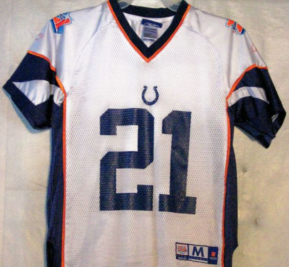 FREE U.S. Shipping! NFL Indianapolis Colts #21 Sanders Super Bowl ...