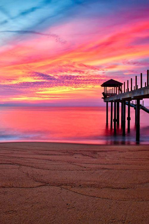 … Pantai Kerachut by Keris Tuah - beautiful sky
