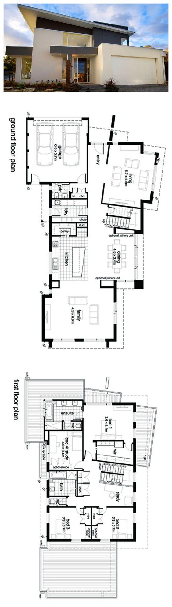 Plan #496-19 | 3146 SF | 4 Bed | 2.5 Bath | 2 Car | 2 Story