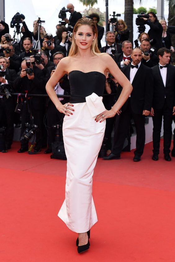 Doutzen Kroes in a DIOR gown #Cannes2015