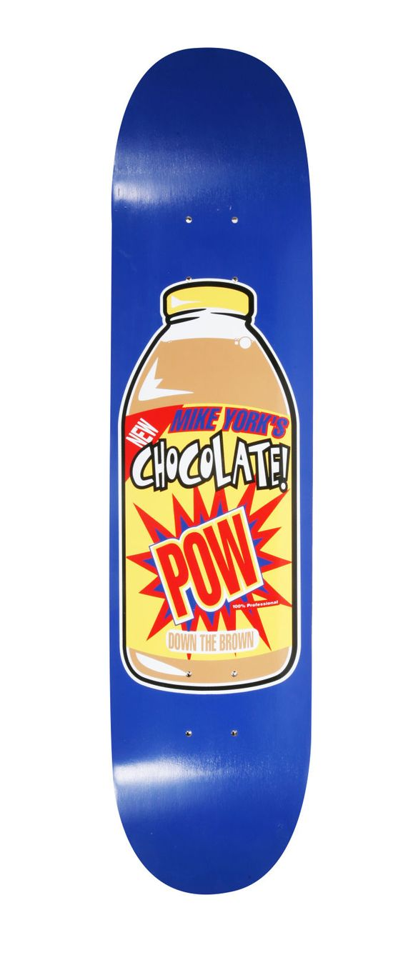 Chocolate Pow - The 50 Greatest Skateboards of The 1990s | Complex