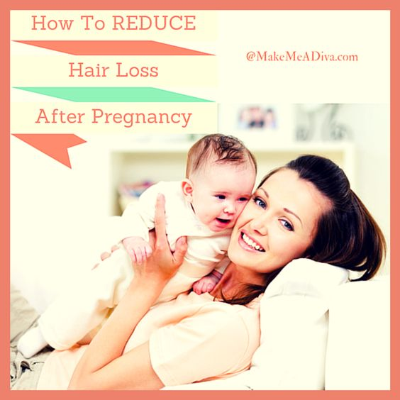 How to Reduce Hair Loss after Pregnancy #avoid #hairloss