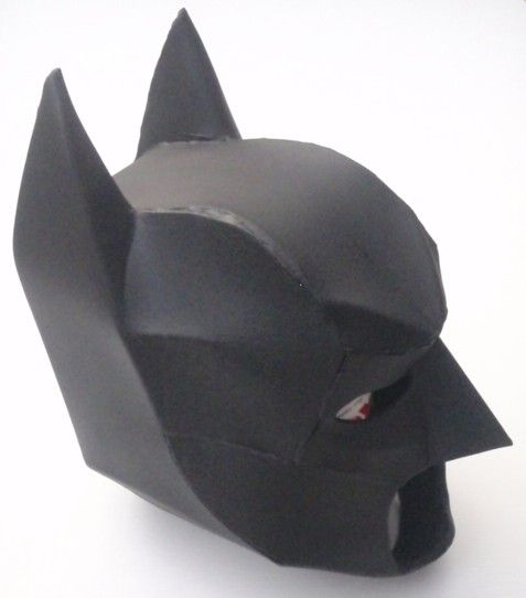 Pepakura Files, Batman And Batman Cowl On Pinterest