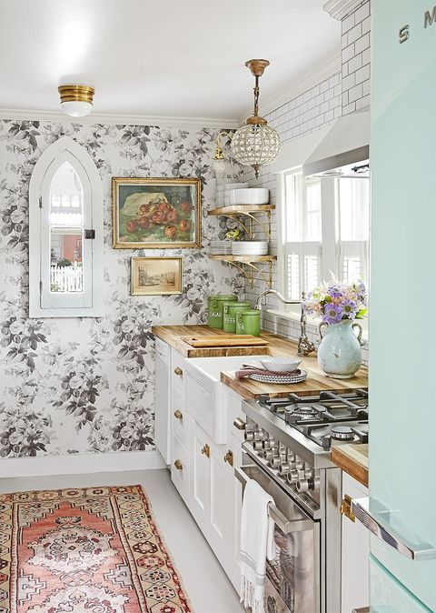 Good Housekeeping French Cottage Kitchen Farmhouse Style Kitchen Cottage Kitchens