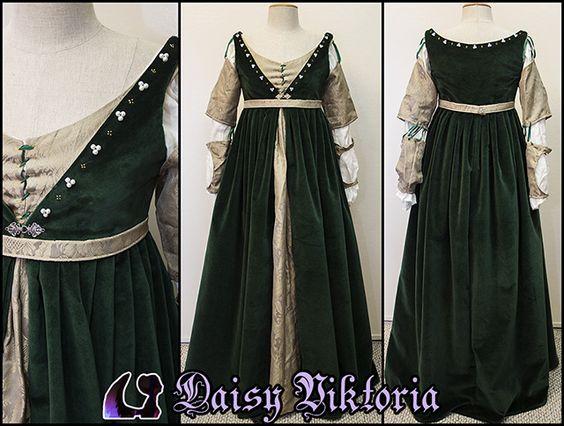 Renaissance Gown, Italian Renaissance And Renaissance On