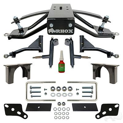 "Club Car Precedent Golf Cart RHOX 4"" A-Arm Lift Kit"