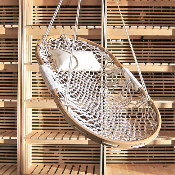 // hammock swing $230