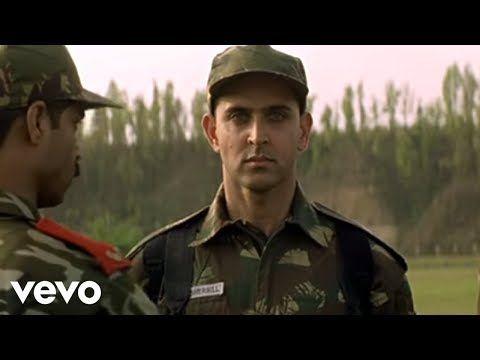 Lakshya Title Track Hrithik Roshan Youtube Hrithik Roshan Music Videos Bollywood Movie